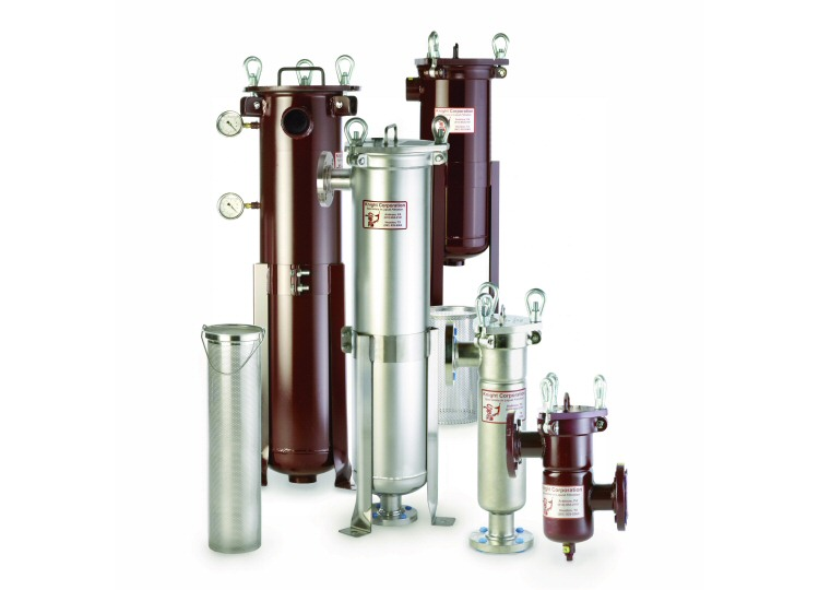 Single Bag Filter Housings / Filter Vessels