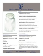 Knight Welded Liquid Filter Bags